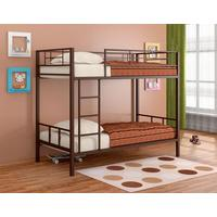 Кровать 2-ярусная Севилья-2 коричневая (1980х960х1620 мм)