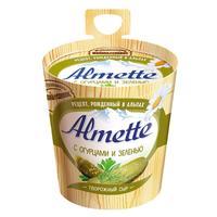 Сыр творожный Almette с огурцами и зеленью 60% 150 г