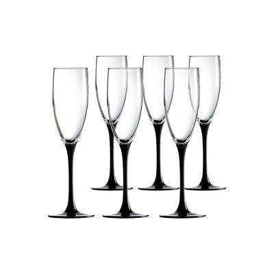 Набор фужеров для шампанского Luminarc Домино 170 мл (6 штук в наборе)