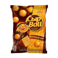 Кукурузные шарики СырBall со вкусом копченого сыра 140 г