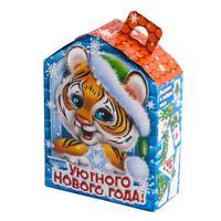 Новогодний сладкий подарок Тигруля картон 600 г (с сертификатом)