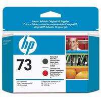 Головка печатающая HP 73 CD949A матовая черная и хромированая красная оригинальная