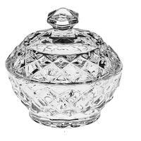 Сахарница хрустальная Diamond 9.6х9.6 см