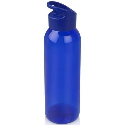 Бутылка для воды Plain синяя 630 мл