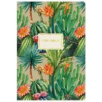 Тетрадь общая Bruno Visconti Кактусовый рай А5 40 листов в клетку на сшивке
