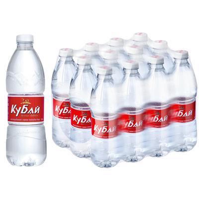 Вода питьевая Кубай негазированная 0.5 л (12 штук в упаковке)