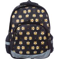 Рюкзак школьный №1 School Tigers черный