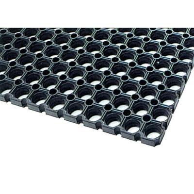 Уценка. Покрытие грязезащитное резиновое 50х100х1,4 см черное