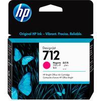 Картридж струйный HP 712 3ED68A пурпурный оригинальный