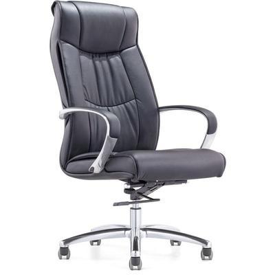 Уценка. Кресло для руководителя Easy Chair 534 TL черное (кожа/металл). уц_меб