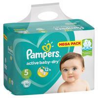 Подгузники Pampers Active Baby-Dry Junior Малая Мега Упаковка 5 (XL) 11-16 кг (90 штук в упаковке)