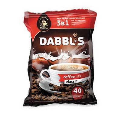 Кофе растворимый Avatico Дабблес 20 г (пакет, 40 штук)