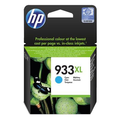 Картридж струйный HP 933XL CN054AE голубой повышенной емкости оригинальный