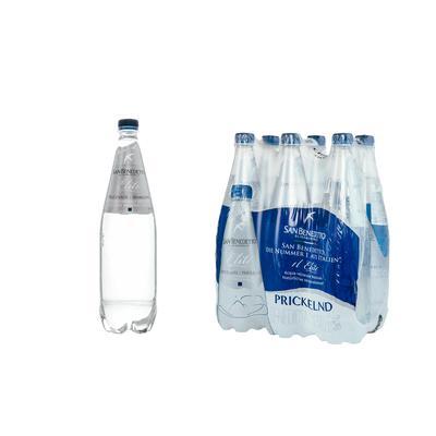 Вода минеральная San Benedetto газированная 1 л (6 штук в упаковке)