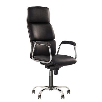 Кресло для руководителя California CH68 черное (экокожа/металл)