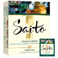 Чай Saito Fujian Green зеленый 100 пакетиков