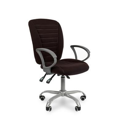 Кресло офисное Chairman 9801 Ergo черное (ткань/пластик/металл)