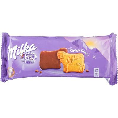 Печенье сдобное Milka с молочным шоколадом 200 г