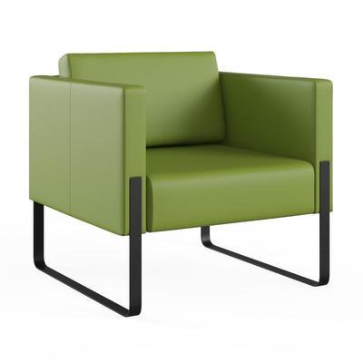 Кресло Тренд оливковое (искусственная кожа)