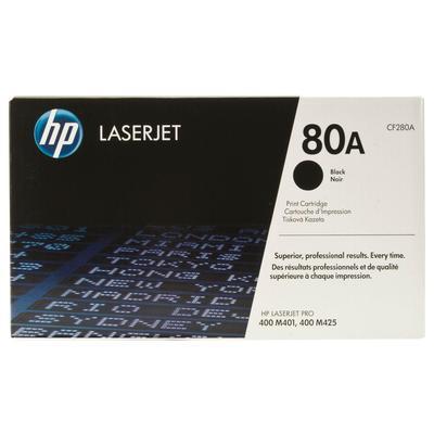 Картридж лазерный HP 80A CF280A черный оригинальный