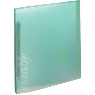 Скоросшиватель пластиковый с пружинным механизмом Attache Rainbow Style А4 до 150 листов зеленый (толщина обложки 0.45 мм)