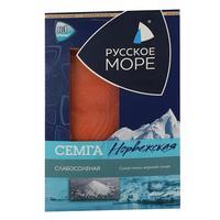 Семга Русское Море слабосоленая ломтики 120 г