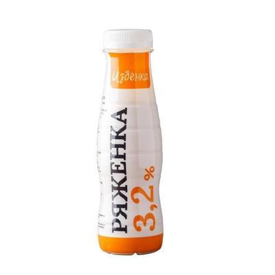 Ряженка ВкусВилл 3.2% 290 г (8 штук в упаковке)