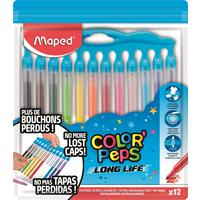 Фломастеры Maped Color'peps long life 12 цветов
