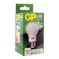 Лампа светодиодная GP 9 Вт Е27 грушевидная 4000K нейтральный белый свет