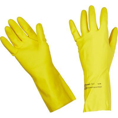 Перчатки латексные Vileda Professional Контракт желтые (размер 6.5-7, ХS-S, 101016)