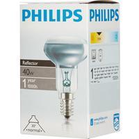 Лампа накаливания Philips 40 Вт E14 рефлекторная зеркальная 2700 К теплый белый свет