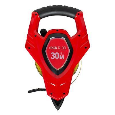 Рулетка измерительная RGK 30мx16мм с фиксатором