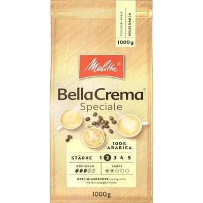 Кофе в зернах Melitta Bella Crema Speciale 100% арабика 1 кг