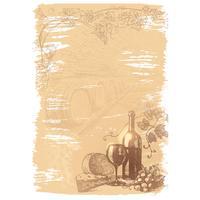 Дизайн-бумага Attache Винная тематика (А4, 120 г/кв.м, в упаковке 50   листов)