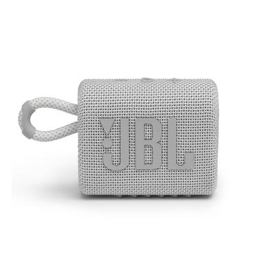 Акустическая система JBL GO 3 белая (JBLGO3WHT)