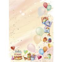 Дизайн-бумага Decadry Вечеринка (А4, 90 г/кв.м, 20 листов в упаковке)
