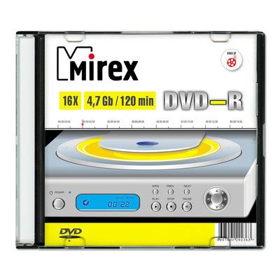 Диск DVD-R Mirex 4,7 GB 16x