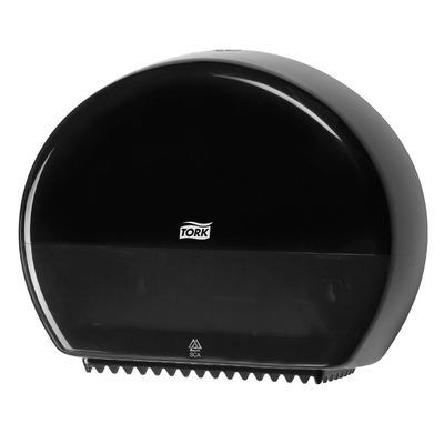 Диспенсер для туалетной бумаги в мини-рулонах Tork Elevation Т2 555008 пластиковый черный