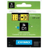 Картридж для принтера этикеток DYMO S0720730 D1 (9 мм x 7 м, цвет ленты желтый, шрифт черный)