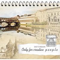 Скетчбук Проф-пресс Прекрасный город А6+ 80 листов