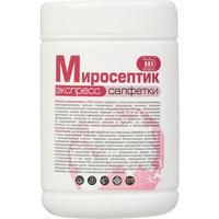Салфетки влажные для экспресс-дезинфекции Миросептик (80 штук в упаковке)