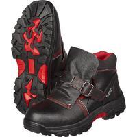 Ботинки мужские Сварщик 1205М натуральная кожа черные с металлическим подноском размер 47