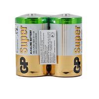 Батарейки GP Super большие D LR20 (2 штуки в упаковке)