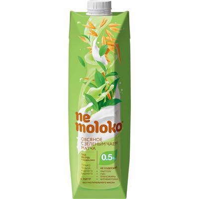 Напиток Овсяный с зелёным чаем матча Nemoloko 1 л