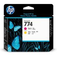 Головка печатающая HP 774 P2V99A пурпурная и желтая