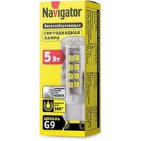 Лампа светодиодная Navigator NLL-P-G9-5-230-4K 5 Вт 4000К G9 420лм (71267)