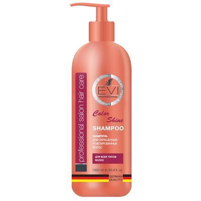 Шампунь EVI Professional Интенсивный уход для окрашенных и мелированных волос 1 л