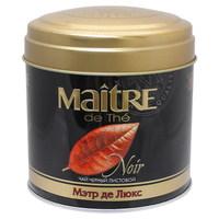 Чай Maitre de The Noir Де Люкс черный 100 г