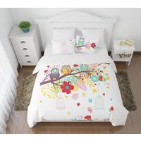 Постельное белье Сирень Волшебный сон (2-спальное с европростыней, 2 наволочки 50х70 см, полисатин)