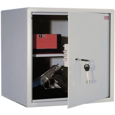 Сейф мебельный Aiko T-40 светло-серый (ключевой замок)